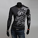 LJCP Round Collar Ispis Long Sleeve T Shirt