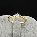Yueli Dámské 18K Gold Zirkon prsten J0304