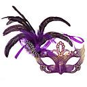 Mask Festival/Praznik Halloween kostime Crvena / Crn / Narančasta / Plav / Bež / Fuschia Mask Halloween / Karneval Ženka Pero / PVC