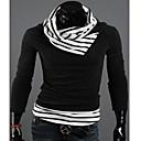 MCFS Heap límec Kontrast Barva Pullover Sweater