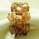 Crystal perle Vjenčanje salvete Ring set od 12, akril Dia 4,5 cm