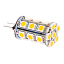 5W G4 LEDコーン型電球 T 24 SMD 5050 370 lm 温白色 DC 12 V