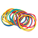 dragonhawk® 100pcs / pack šarene elastične gumene trake