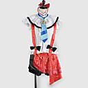 Inspirirana Ljubav uživo Umi Sonoda Video igra Cosplay Kostimi Cosplay Suits / School Uniforms Kolaž Bijela / Crvena Bez rukavaTop /