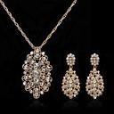 Nakit Set Žene Godišnjica / Vjenčanje / Angažman / Rođendan / Dar / Party / Special Occasion Nakit Kompleti Legura Umjetno drago kamenje