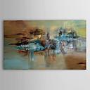 Ručně malované Abstraktní Jeden panel Plátno Hang-malované olejomalba For Home dekorace