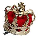 Koruna Královna Pohádkové Festival/Svátek Halloweenské kostýmy Červená Zlatá Patchwork Retro Koruna Halloween Karneval Unisex Slitina