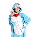 Kigurumi Pyžama Anime Leotard/Kostýmový overal Festival/Svátek Animal Sleepwear Halloween Modrá Patchwork Coral Fleece Kigurumi Pro Unisex