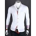 DD Noste volný čas v kontrastní barvě košile (bílá)