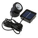 Vodotěsné Solární 6-LED Spotlight Zahrada Venkovní Flood lampy (CIS-57157)