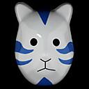 Mask Inspirirana Naruto Madara Uchiha Anime Cosplay Pribor Mask Bijela / Plava PVC Male