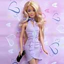 パーティー/イブニング ドレス ために バービー人形 パープル ドレス のために 女の子の 人形玩具