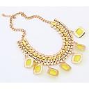 Btime Dámské módní prohlášení Skládaný náhrdelník