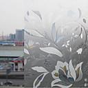 Elegantan Bloomming Ice Cvijeće film Prozor
