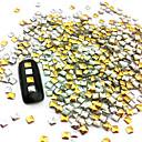 100pcs 2.5mm Punk Mješoviti Zlatni i Srebrni Rivet Nail Art dekoracija