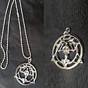 Šperky Inspirovaný Fullmetal Alchemist Edward Elric Anime Cosplay Doplňky Náhrdelníky Biały Stop Pánský