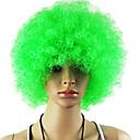 Crna afro periku Obožavatelji Bulkness Cosplay Božić Halloween Wig Light Green Wig 1pc/lot