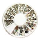 500pcs 6-Veličina Arcylic Diamond Nail Art Dekoracije