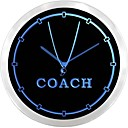 nc0980 Trener Sports trener Neon Prijavite LED zidni sat