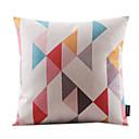 Lijep Geometrijski Pamuk / Posteljina Decorrative Jastuk Cover