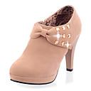 Ženske cipele - Čizme - Zabava i večer - Brušena koža - Stiletto potpetica - Modne čizme - Bež / Siva / Crna