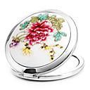 1 Kom Prijenosni i preklopite Ceramet Uljepšati Značajke kozmetičkim zrcalom