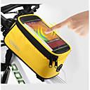 ROSWHEEL® 自転車用バッグ 1L携帯電話バッグ 防水 / タッチスクリーン 自転車用バッグ ポリエステル サイクリングバッグ iphone 4/10S / iPhone 5 C / iPhone 5/5S / 他の同様のサイズの携帯電話 サイクリング