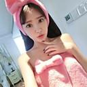 Dámské roztomilé bowknot měkký flanel pyžama