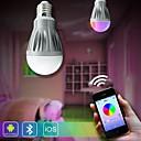 7W E26/E27 LED kulaté žárovky A60(A19) 30 SMD 5630 600 lm Stmívací Dálkové ovládání Senzor Ozdobné AC 85-265 V