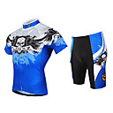 FJQXZ® Biciklistička majica s kratkim hlačama Muškarci Kratki rukav BiciklProzračnost / Quick dry / Ultraviolet Resistant / Prednji