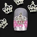 10pcs 3d DIY rhinestones kruna za prstiju leguri nail art ukras