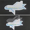 1ks šablony jasné Perler korálky pegboard letadlo vzor pro 5mm Hama korálky pojistek korálků