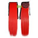 ホット販売Penyテールのヘアクリップ色カラフルな赤いバー卸売ヘアエクステンションヘアピース