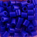 cca 500pcs / torba 5mm plavi perler perle osigurač kuglice HAMA kuglice DIY slagalica eva materijal pronaći cache datoteke za djecu