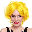 Cosplay Paruky cosplay Festival/Svátek Halloweenské kostýmy Žlutá Jednobarevné Paruka Halloween / Karneval Dámské