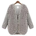 z.y.p ženski novi zapadni janjetina vuneni kaput