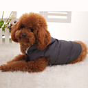 Psi Mellény Sive boje Odjeća za psa Zima Jednobojni Ugrijati
