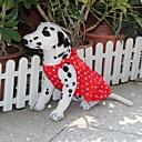 Psi Haljine Srebrna Odjeća za psa Ljeto Na točkice