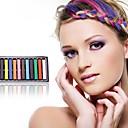 jednokratnu boja kose chalk12 kom (slučajni 12 boja)