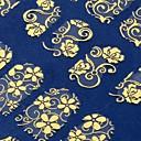 108一枚の黄金の3Dフラワーネイルアートステッカー装飾ホットスタンプデカール