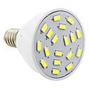 daiwl E14 4 w 18xsmd 5730 280lm 5500-6500k chladné bílé světlo LED Spot světla s PVC pláštěm (AC 220)