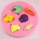 Kočárek nohy láhev fondant dort Silikonová forma dort dekorace nástroje, l8cm * w8cm * h1cm