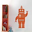 ウォールステッカーウォールステッカー、漫画のロボットPVCウォールステッカー。