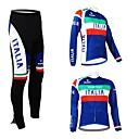 KOOPLUS® Biciklistička majica s tajicama Žene / Muškarci / Uniseks Dugi rukav BiciklProzračnost / Vodootporni patent / Podesan za nošenje