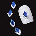 10pcs plavi markiz 3d Rhinestone DIY aluminijski pribor nail art ukras