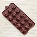 15ホールのチューリップ形のケーキ型アイスゼリーチョコレートモールド
