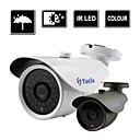 yanse® 1000tvl 6mm metala i aluminija, d / n CCTV kamere ir 36 na čelu sigurnosnog vodootpornu žičanu f278cf