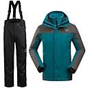 Muškarci Zimska jakna / Kompleti odjeće/odijela Skijanje Vodootpornost / Ugrijati / Vjetronepropusnost ZimaS / M / L / XL / XXL