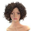 14 inča žene crne kratke afro kovrčavu kosu sintetička perika cosplay sa slobodnim kose net