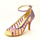 Može se prilagoditi - Ženske - Plesne cipele - Latin / Balska sala - Vještačka koža - Stiletto Heel - Crn